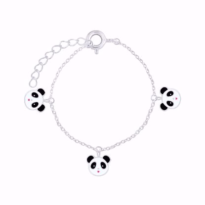 sølv-til-børn-børne-armbånd-med-panda-15cm-8934