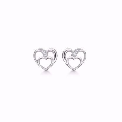 sølv-hjerte-ørestik-ørering-med-zirkonia-sten
