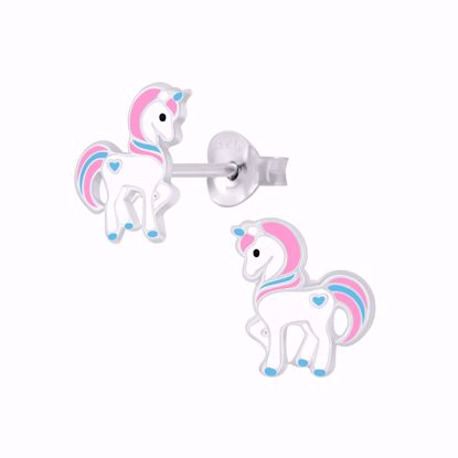 unicorn-enhjørning-ørestikker-øreringe-til-børn-11320