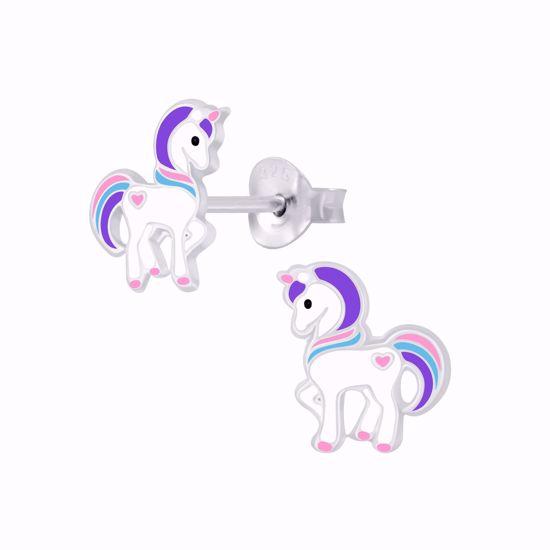 unicorn-enhjørning-ørestikker-øreringe-til-børn-11321