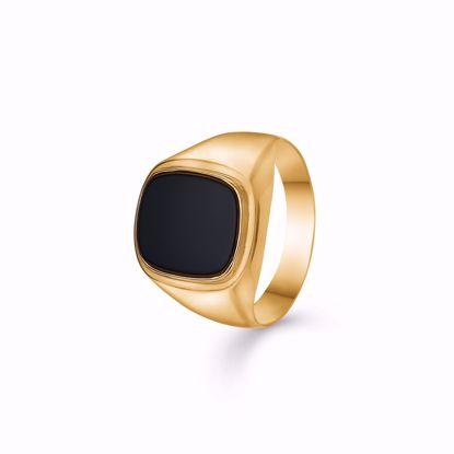 guld-herre-ring-med-sort-sten-onyx-6906/08