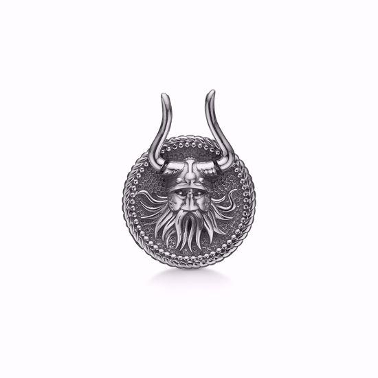 sølv-herre-vedhæng-viking-30090