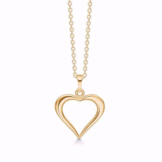 guld-hjerte-halskæde-uden-sten-7422/08