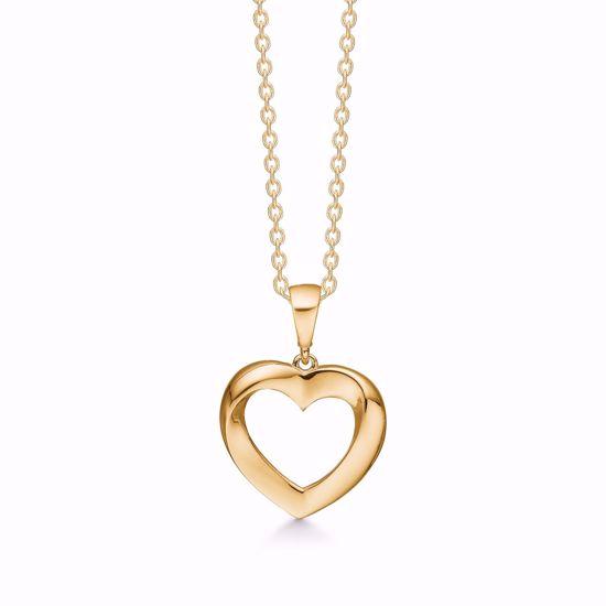 guld-hjerte-halskæde-uden-sten-7423/08