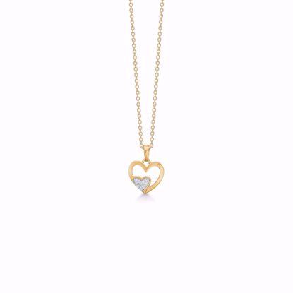 guld-hjerte-med-zirkonia-sten-og-kæde-7425/08
