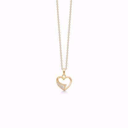 guld-hjerte-med-zirkonia-sten-og-kæde-7427/08