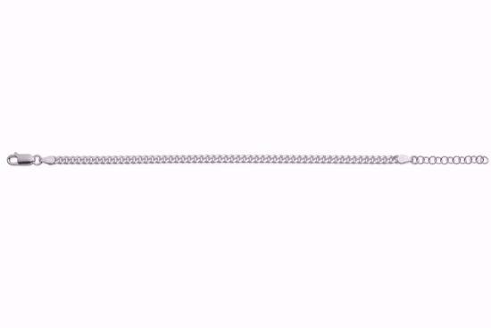 panser-armbånd-i-sølv-16+3cm-8946