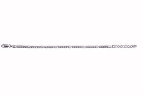 figaro-armbånd-i-sølv-16+3cm-8949