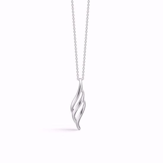 Sølv halskæde med vedhæng