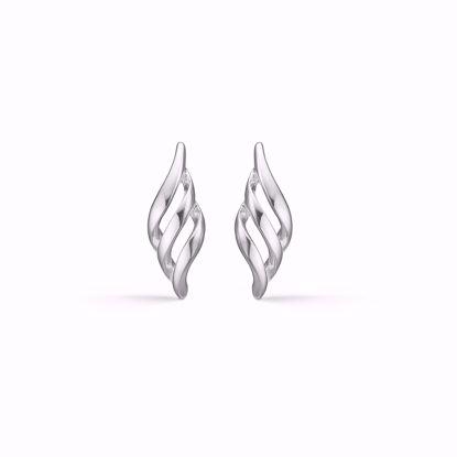 Sølv ørestikkere øreringe