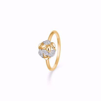 Guld ring 8 kt med zirkonia sten 8340/6/08