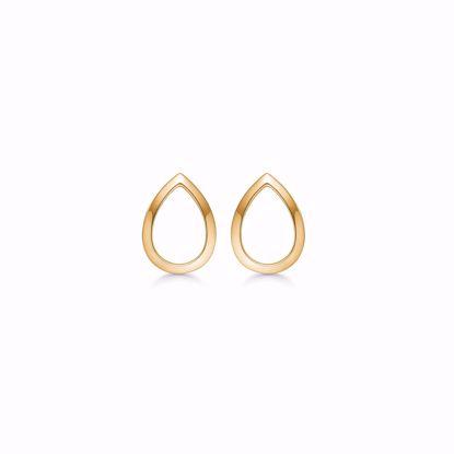 guld-dråbe-ørestik-øreringe-8kt-5578