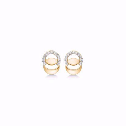 guld-ørestik-øreringe-med-zirkonia-sten-8kt-5581/08
