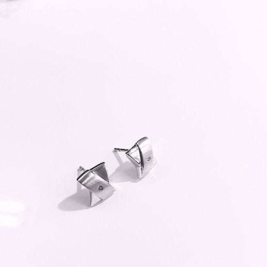 Billede af Outlet Ørestikkere i sølv 258/1
