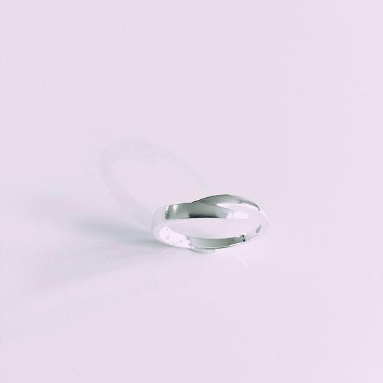 Billede af OUTLET sølv ring 662/2