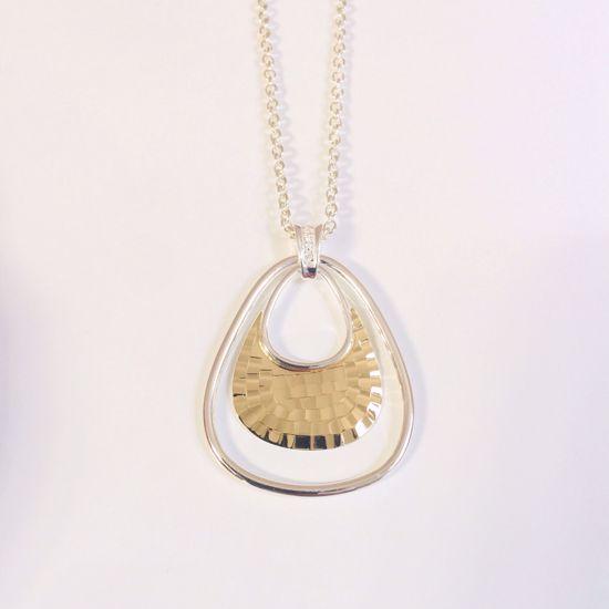 Billede af OUTLET Halskæde i sølv med vedhæng 1030/3