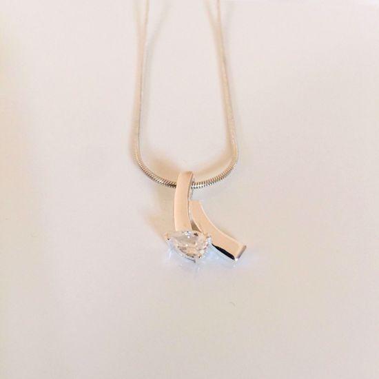 Billede af OUTLET Halskæde i sølv med vedhæng 1037/3