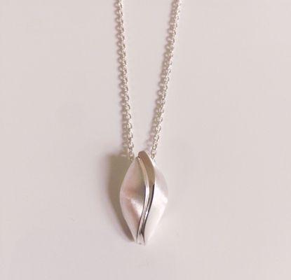 OUTLET Halskæde i sølv med vedhæng 1095/3