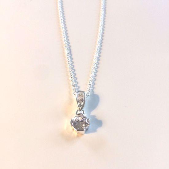Billede af OUTLET Halskæde i sølv med vedhæng 1187/3