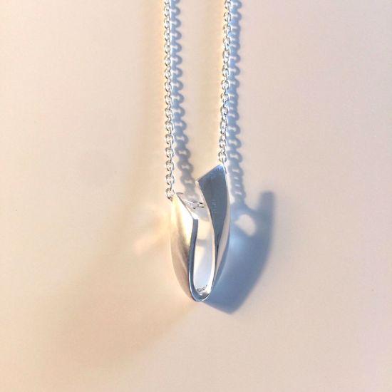 Billede af OUTLET Halskæde i sølv med vedhæng 1194/3