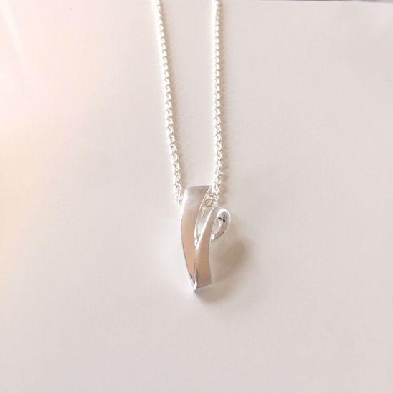 Billede af OUTLET Halskæde i sølv med vedhæng 1200/3
