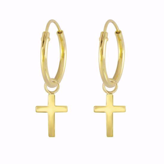 guld-creoler-med-kors-11342/F