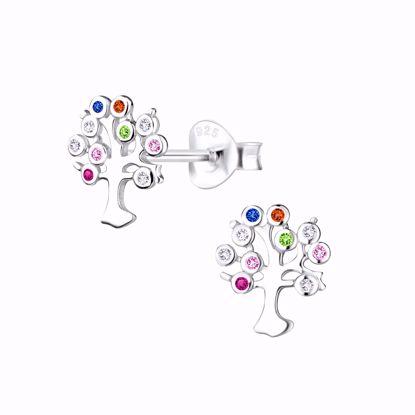livets-træ-øreringe-ørestikker-med-farvede-sten-1954/1