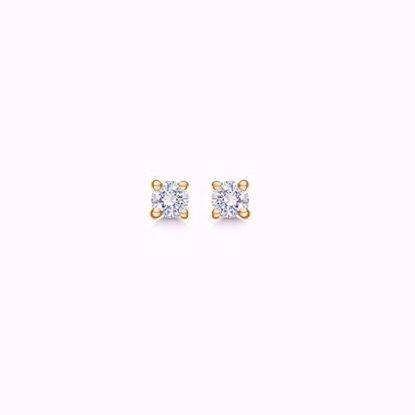 guld-diamant-ørestikker-5593/14