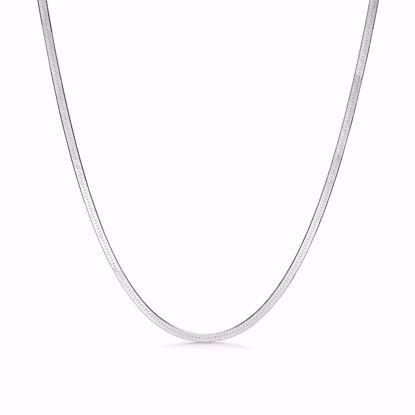 seville-sølv-halskæde-flad-slange-kæde-8955/42