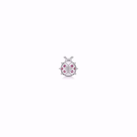 seville-sølv-ørestik-mariehøne-med-rød-zirkonia-sten-11368