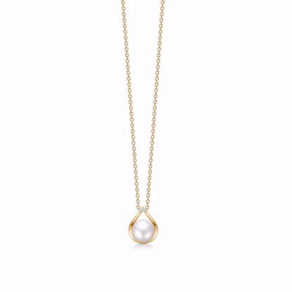 guld-vedhæng-halskæde-med-perle-og-diamanter-8361/7/08