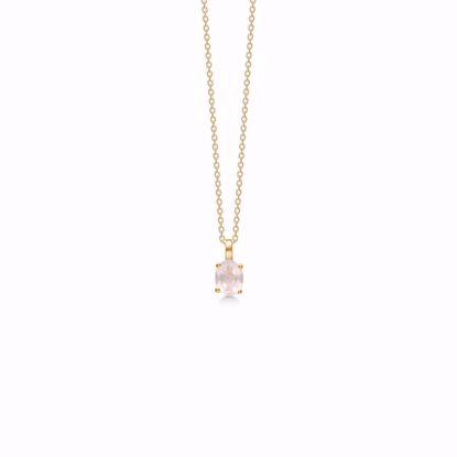 guld-vedhæng-halskæde-med-rosa-quartz-8367/7/08