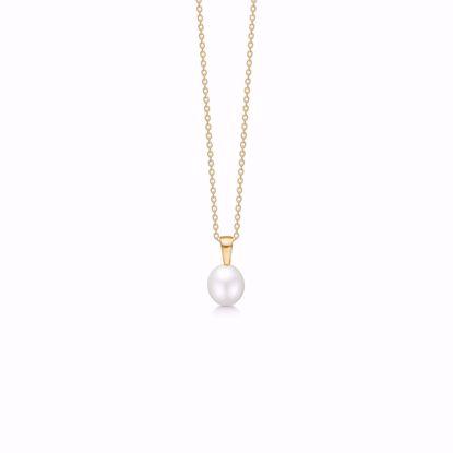 guld-vedhæng-halskæde-med-perle-7429/08