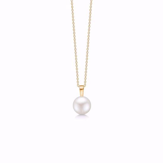 guld-vedhæng-halskæde-med-perle-7430/08