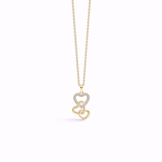 guld-hjerte-halskæde-med-zirkonia-7432/08