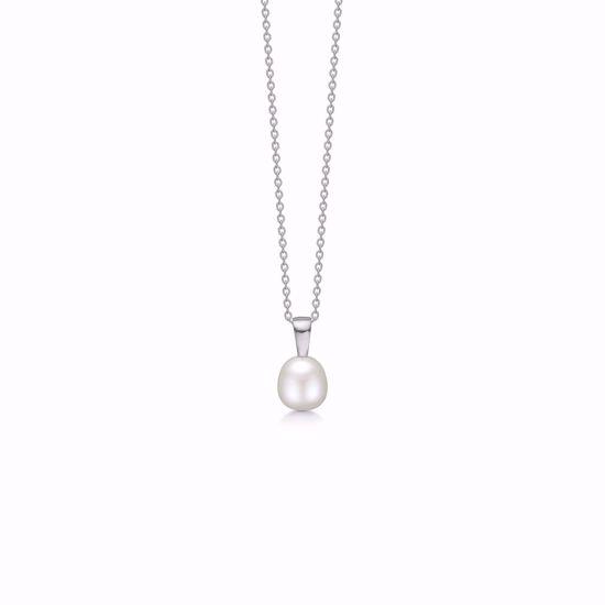 sølv-halskæde-med-perle-30102