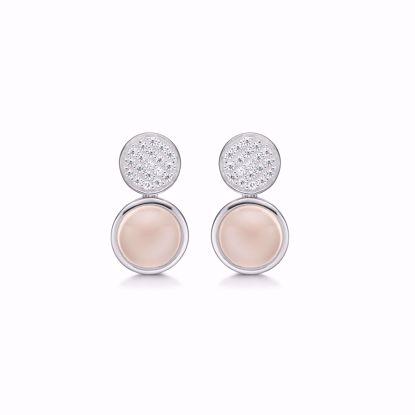 sølv-øreringe-med-pink-sten-1960/1