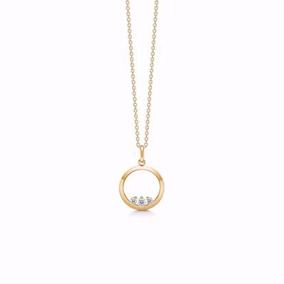 guld-halskæde-med-zirkonia-sten-8376/7/08