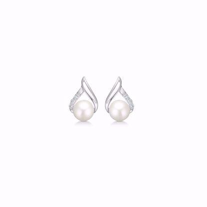 hvidguld-øreringe-med-perle-og-diamanter-8380/5/08